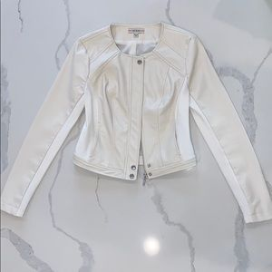 GUESS White Fitted Jacket